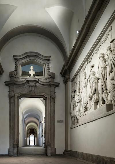 Die Accademia di Brera in Mailand, wo Bottega Veneta im September präsentierte, Bild: Bottega Veneta.