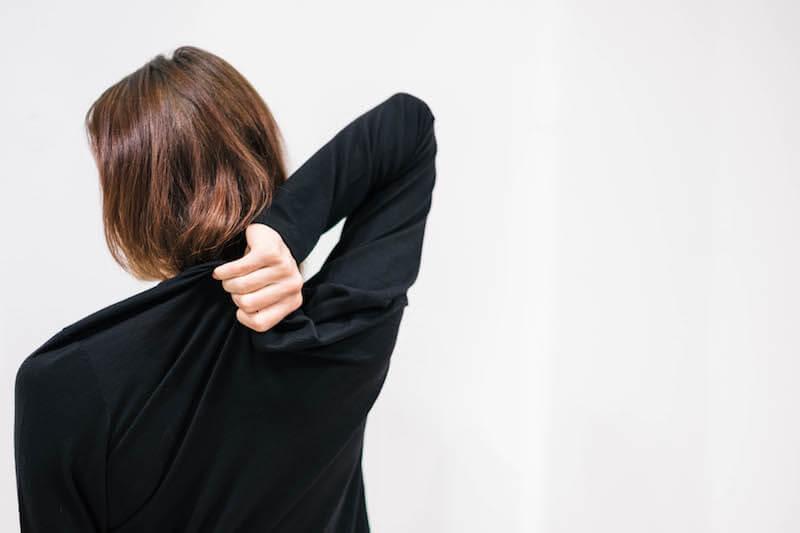 """Langarm-Shirt """"Appeal"""" von Funktionschnitt aus Merinowolle in Schwarz"""