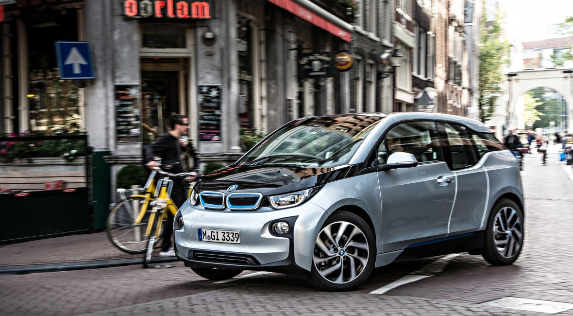 So leise: BMWi3 in Aktion, Bild: BMW
