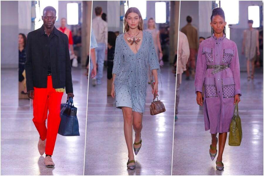 Splendid: Mode von Bottega Veneta in Mailand, Laufstegbilder: © Bottega Veneta