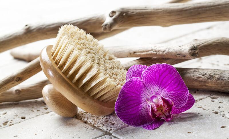 massagebürsteblüte