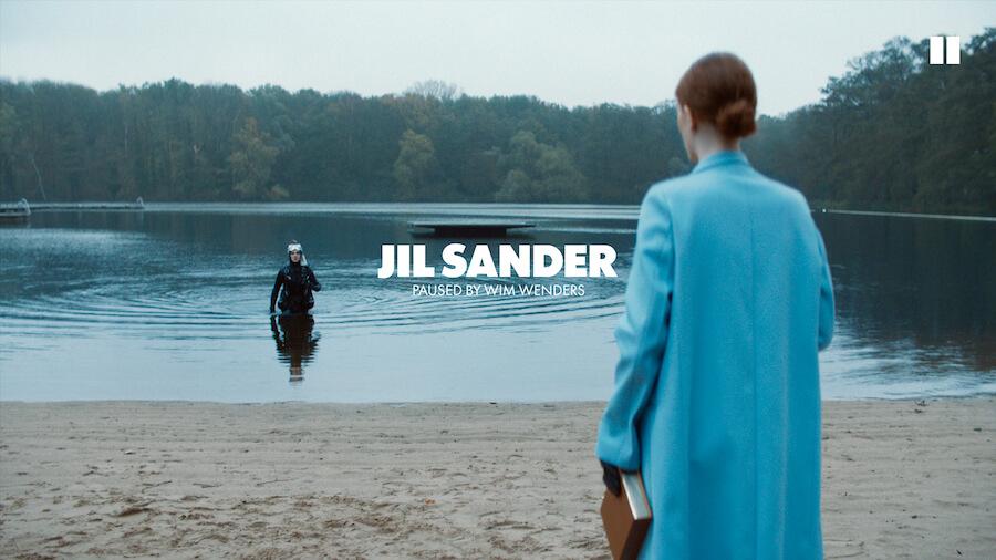 Wim Wenders für Jil Sander-Mode - schön, schräg, klar!
